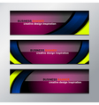 business banner design vector image vector image