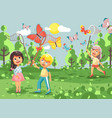 Cartoon character children