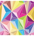 Crystals Seamless Pattern vector image vector image
