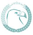 eagle bird icon vector image