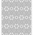 Futuristic continuous contrast pattern motif vector image vector image