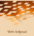 geometric mosaic background vector image vector image