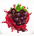 red wine and grapes fresh fruit 3d icon
