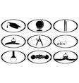 School subjects vector image