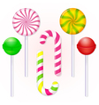 set-of-candies-lollipop vector image