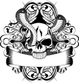 skull and two snake
