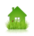 Eco-house vector image