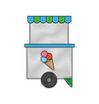 food trucks design vector image vector image