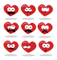 Funny Heart vector image vector image