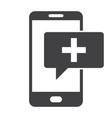 mhealth icon vector image vector image
