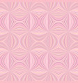 pink seamless psychedelic abstract curved stripe vector image vector image