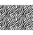 zebra stripes seamless pattern vector image vector image