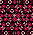 Background pink red flowers vector image vector image