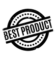 Best Product rubber stamp vector image vector image
