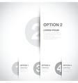 grey option background vector image vector image