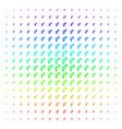 heterosexual symbol shape halftone spectrum vector image vector image