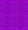 purple hypnotic abstract seamless striped spiral vector image vector image