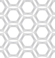 Repeating ornament many lines forming hexagons vector image vector image
