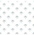 retro music pattern seamless vector image