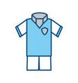 soccer sport wear vector image