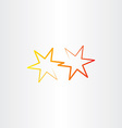 star icon sign vector image