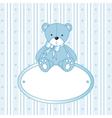 Teddy Bear Background vector image