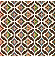 seamless abstract ethnic geometric pattern vector image