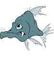 Deep-water fish vector image vector image