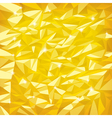 Gold foil vector image vector image