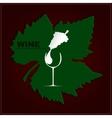 Logo wine vector image vector image