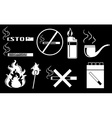 Non-smoking vector image