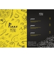 Pizza menu the names of dishes of Pizza