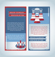 usage of industry technology banners vector image vector image