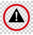 Warning Rounded Icon vector image vector image