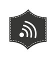 wifi connection isolated icon vector image