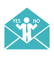 conceptual business mail vector image