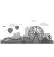 Ferris Whell vector image