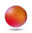 Abstract polygonal sphere vector image vector image