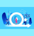 agile management business and life vector image vector image
