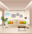 air conditioner background vector image