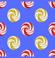 colorful sweet candy seamless pattern vector image vector image