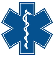 Emergency Medical Symbol vector image vector image