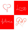 icons-for-valentines-day-2 vector image