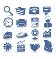 technology set of icons vector image vector image