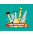 construction and building equipment vector image