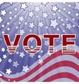 American Vote vector image