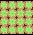 Nature Leaf Seamless Pattern vector image