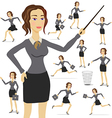 Business Woman business suit adult female person vector image