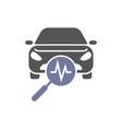 car diagnostics icon auto service vector image