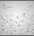 chromium grey abstract background of business vector image